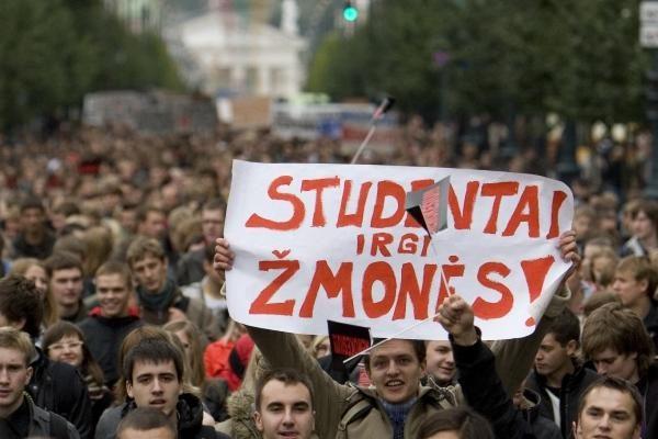 G. Steponavičius imasi studentų reikalo