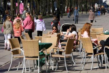 Kauno lauko kavinės tikisi neblogo uždarbio