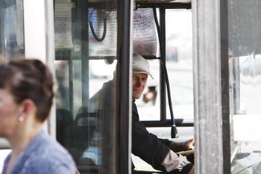 Autobusų vairuotojai mokysis valdyti konfliktus