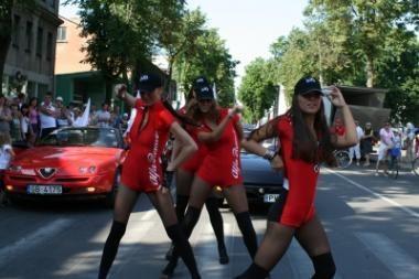 """Palanga nepamiršo """"Alfa Romeo"""" jubiliejaus"""