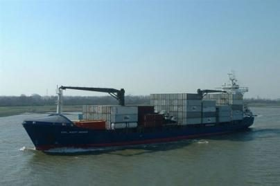 Lietuvoje - didžiausias konteinerinis laivas