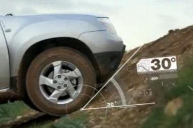 """""""Dacia Duster"""" – geriau nei """"viliukas""""?"""