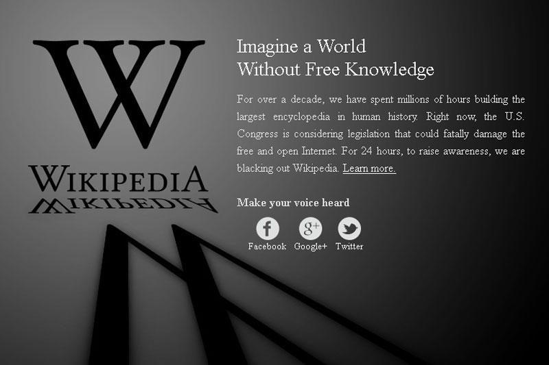 """Šiomis dienomis """"Vikipedija"""" tinklalapis gali būti nepasiekiamas"""
