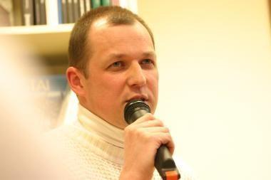 Rašytojų klube - susitikimas su Vytautu V. Landsbergiu
