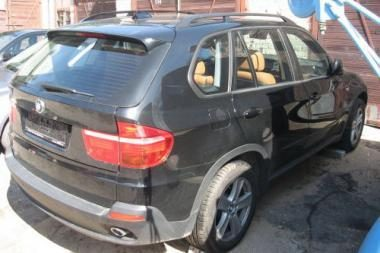 "Kaune rastas dar vienas vogtas ""BMW X5"""