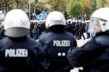 Vokietijoje - protestas prieš atominių elektrinių veiklą