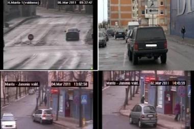 Vaizdo kameros fiksuoja eismo dalyvių pažeidimus