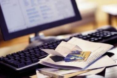 Už naudojimąsi elektronine sąskaita – kompiuteris