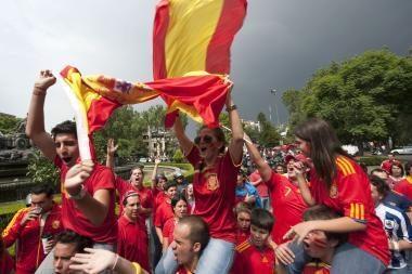 Istorinė pergalė privertė ispanus pamiršti krizę