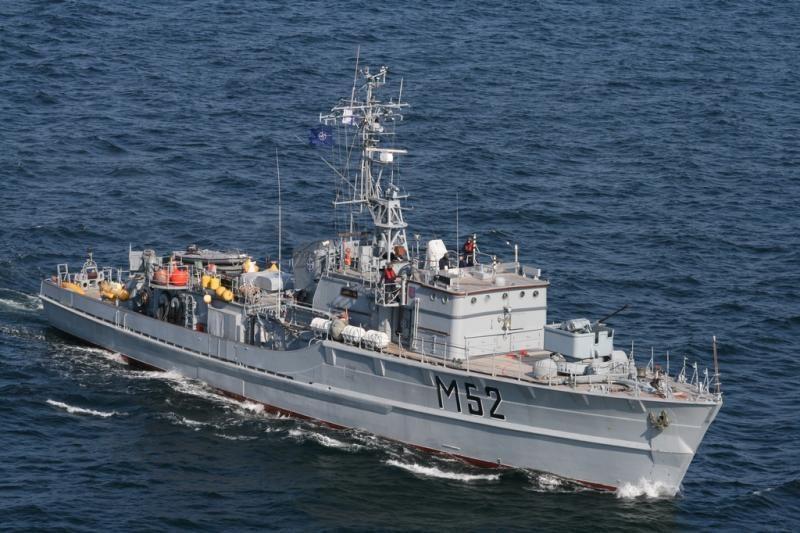 Lietuvos vandenyse - Baltijos šalių karinių laivų pratybos