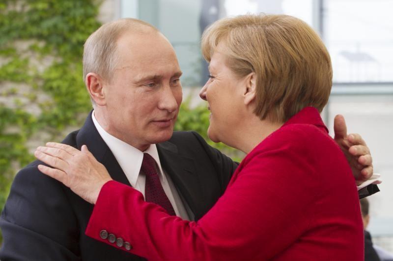 V.Putinas: Rusija dėl dujų tiekimo Europai tariasi ir su Norvegija