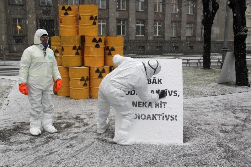 Branduolinės energetikos ateitis priklauso nuo branduolinių atliekų