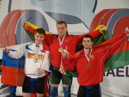Ž. Staniulis - Europos jaunių sunkiosios atletikos čempionas