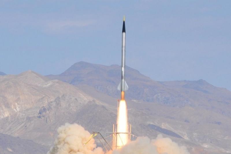 Irane išbandyta patobulinta balistinė raketa