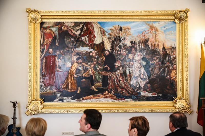 Raudondvario dvare – įspūdingo istorinio paveikslo pristatymas