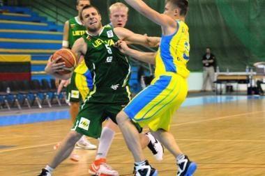 Lietuvos krepšininkai dėl medalių nekovos