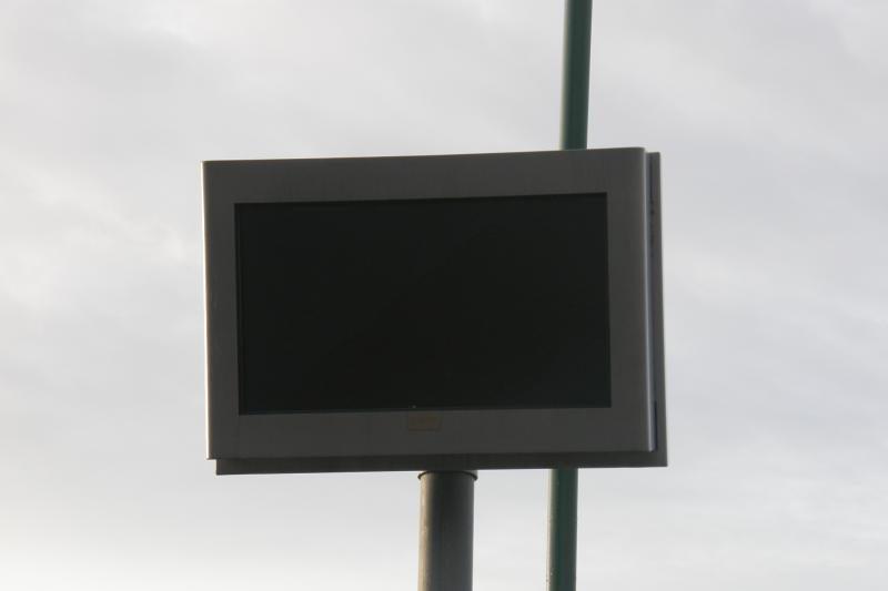 Klaipėdos mieste neveikiančių švieslenčių gali tik gausėti
