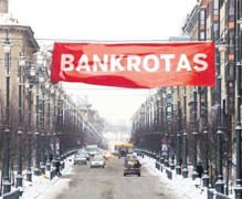 """Business Insider"": Lietuvai gresia bankrotas"