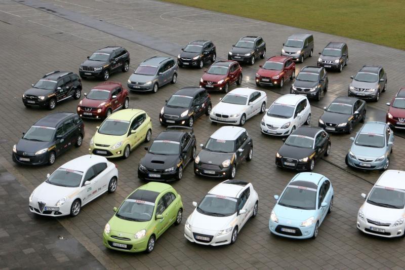 2012 m. Lietuvos naujų automobilių rinka smuko 9 proc.
