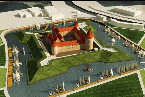 Vilniečiai siūlo Klaipėdos pilies viziją