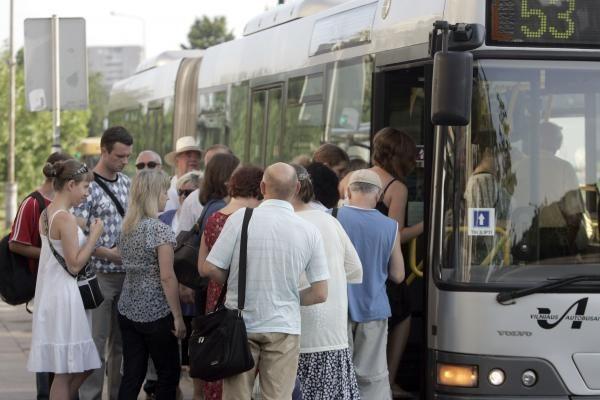 Vilniaus autobusai važinės sąvartyne išgautomis dujomis?