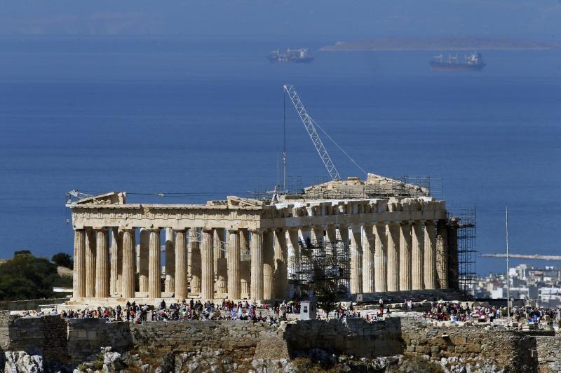 Graikijos Akropolis sutrumpino darbo laiką dėl 42 laipsnių karščio