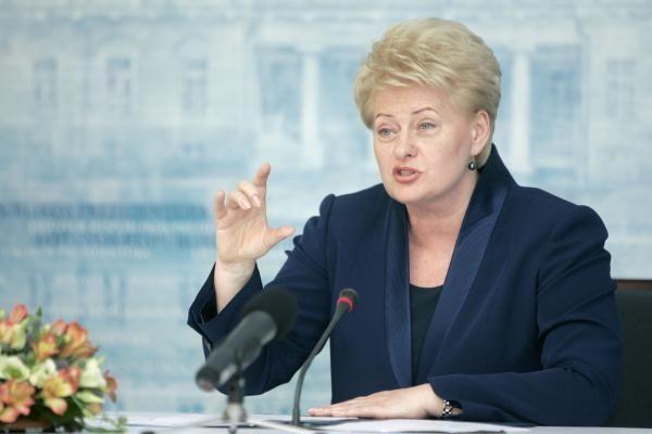 D.Grybauskaitė: dėl Prezidentų parko turi spręsti visuomenė, o ne politikai