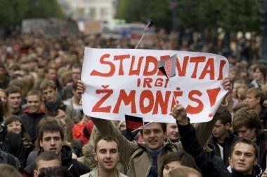 Dauguma studentų parlamentarų darbą vertina prastai