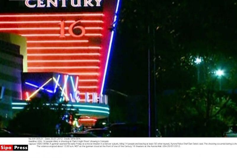Kolorade per filmo apie Betmeną peržiūrą užpuolikas nušovė 12 žmonių