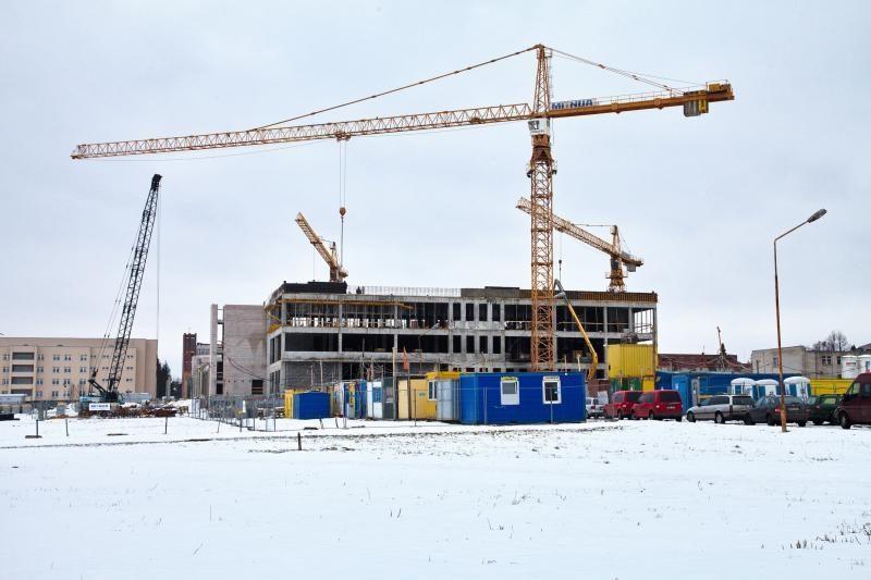 Naujas Kauno klinikų Skubios pagalbos korpusas duris atvers kitąmet