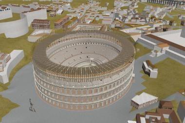 "Senovės Roma atgimė ""Google Earth"" programoje"