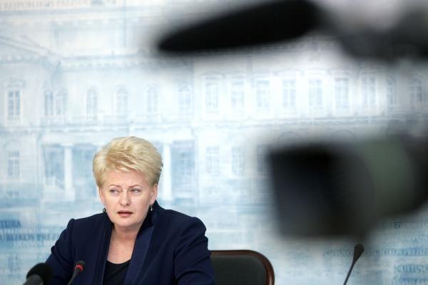 Prezidentė: permainos Lietuvoje tampa realybe