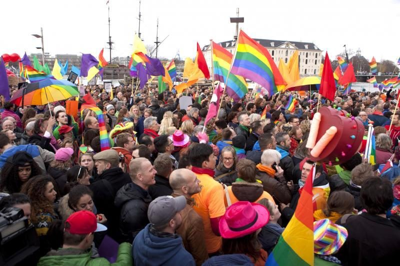 Gėjų santuokos įstatymo straipsnį patvirtino Prancūzijos Senatas