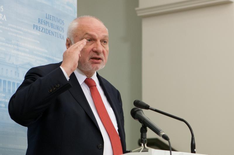 V.Mazuronis: ES šalys kaip mažinti klimato kaitą suformuluos Vilniuje