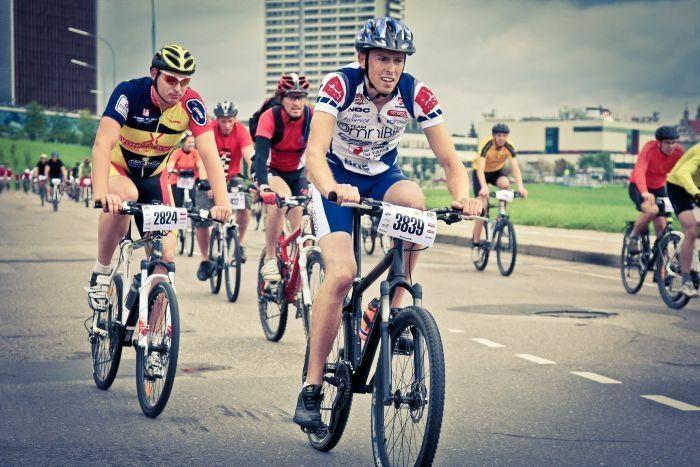 Sostinės centrą visai dienai okupavo dviratininkai (atnaujinta)