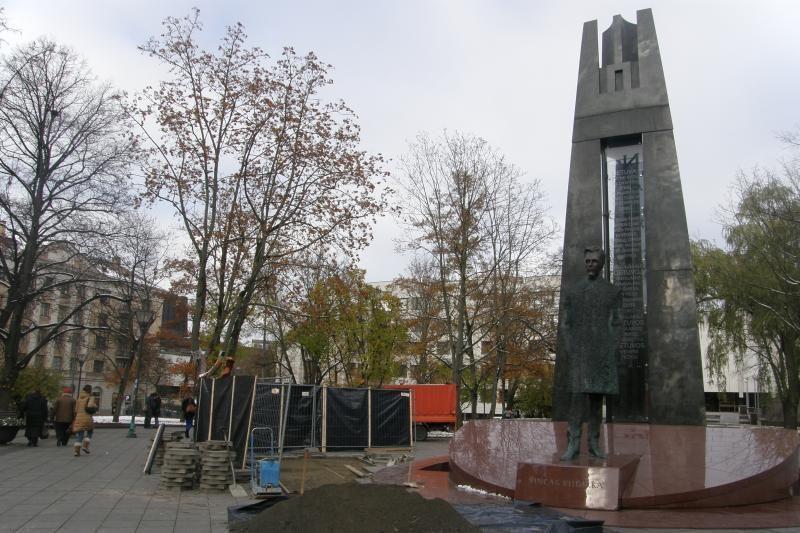 Akibrokštas: V.Kudirkos aikštėje skambėjo Tarybų Lietuvos himnas