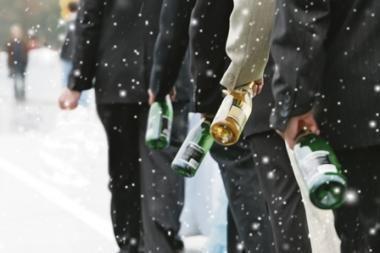 Klaipėdoje alkoholiu apsinuodijo du nepilnamečiai