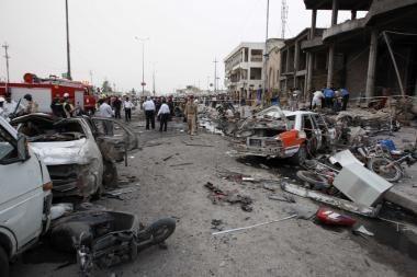 Teroras sugrįžo į Iraką