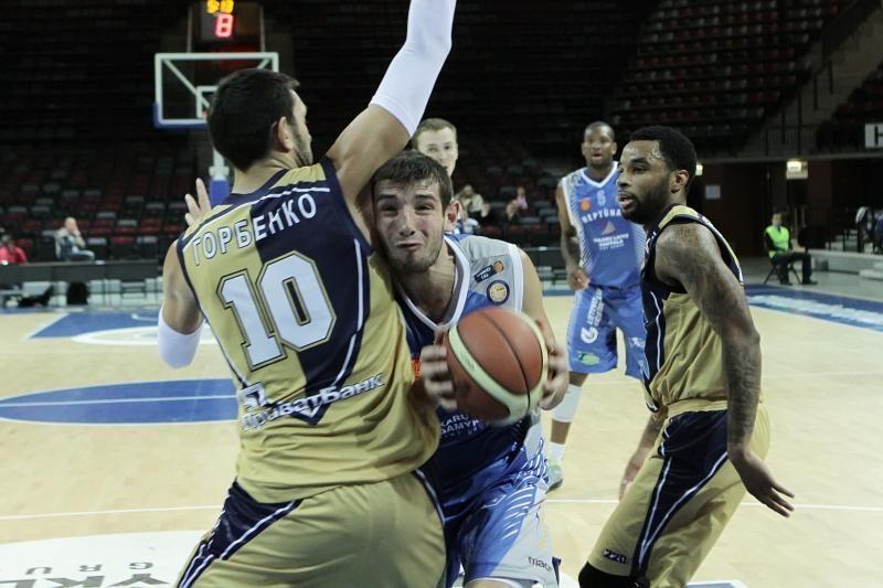 """""""Neptūne"""" žais rusų krepšininkas N.Barinovas"""