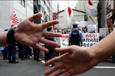 Tokijuje protestuojama prieš dokumentinį filmą apie delfinų skerdynes