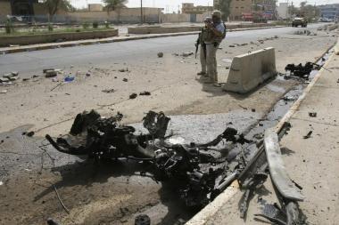 Bomba pražudė būsimus policininkus