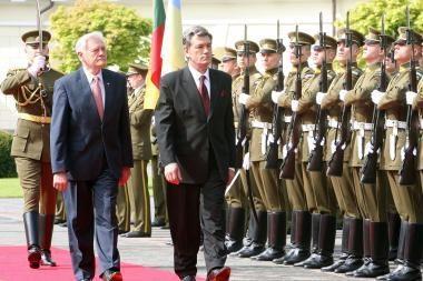 Lietuvoje lankosi Ukrainos prezidentas