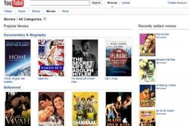 """""""YouTube"""" svetainėje – 400 nemokamų pilnametražių filmų"""