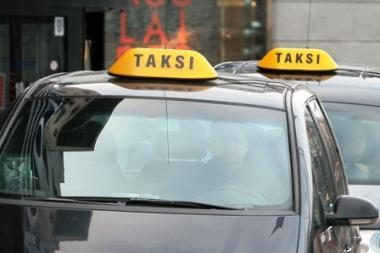 Už kelionę taksi iš oro uosto į centrą - 130 litų