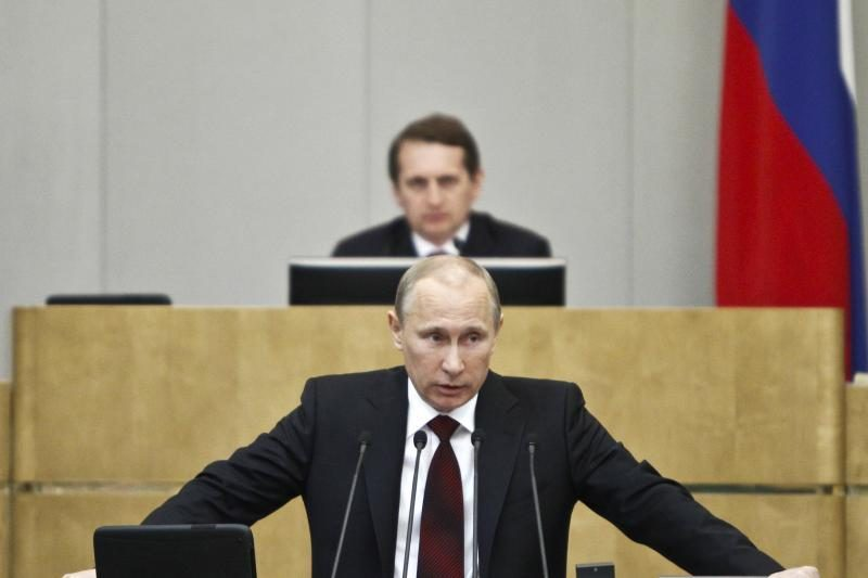 V. Putinas - galingiausias žmogus pasaulyje?