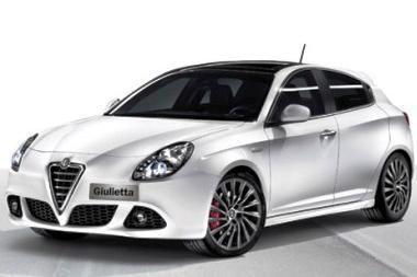 """Pavasarį sugrįš legendinė """"Alfa Romeo Giulietta"""""""