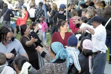 Tarptautinę romų dieną - čigoniškas pyragas