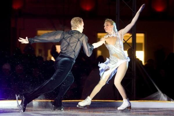 Rotušės aikštė pavirto čiuožykla