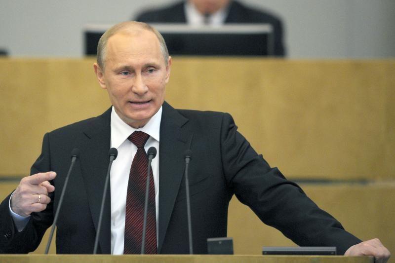"""V.Putinas yra pasiruošęs dirbti su """"bet kuriuo JAV prezidentu"""""""