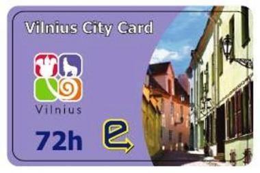 Vilniaus miesto kortelė jau prekyboje (papildyta)